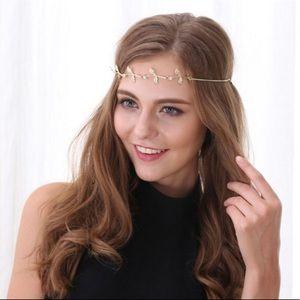 Accessories - Leaves Greek goddess hair chains
